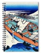 Top Quality Art - Mt,fuji36view-joshu Ushibori Spiral Notebook