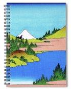 Top Quality Art - Mt,fuji36view-soshu Hakone Kosui Spiral Notebook