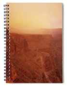 Toroweap Overlook Storm Sunrise Spiral Notebook