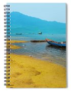 Tourists In Lang Co 2 - Hue, Vietnam Spiral Notebook