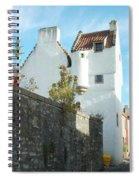 towerhouse and turret at Culross Spiral Notebook