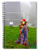 Traditional Look Spiral Notebook