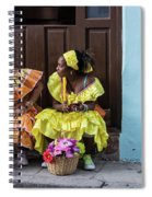 Traditional Meets Modern Spiral Notebook