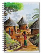 Traditional Village Spiral Notebook