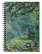 Trail In The Woods Spiral Notebook