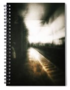 Train To The Fourth Dimension Spiral Notebook