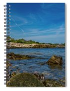 Tranquil Blues Day Kennebunkport Spiral Notebook