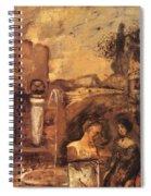 Transcience 1912 Spiral Notebook
