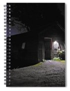 Trapp Family Lodge Cabin Sunrise Stowe Vermont Photo Spiral Notebook