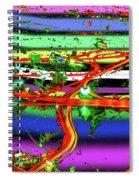 Trashed Spiral Notebook