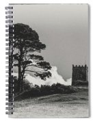 Tree And Tower Spiral Notebook