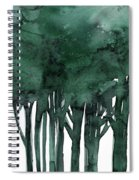 Tree Impressions 1d Spiral Notebook