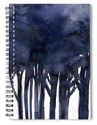 Tree Impressions 1f Spiral Notebook