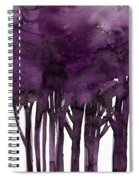 Tree Impressions 1i Spiral Notebook