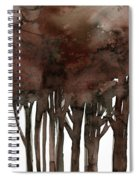 Tree Impressions No. 1 Spiral Notebook