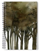 Tree Impressions No. 1a Spiral Notebook