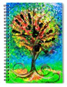 Tree Of Faith Spiral Notebook