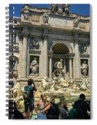 Trevi Fountain Spiral Notebook