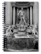Trevi Fountain - Fontana Di Trevi Spiral Notebook