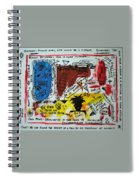 Tribute To Basquiat, Philosophy, And Activism Spiral Notebook