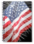 Tribute To The Usa Spiral Notebook