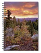 Trinity Mountains Spiral Notebook