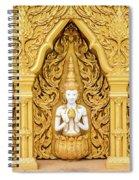 Triple Buddhas, Thailand Spiral Notebook