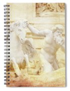 Triton And Horse Spiral Notebook