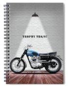 Triumph Trophy Tr6 Spiral Notebook