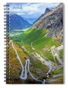 Trollstigen Spiral Notebook