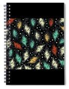 Tropical Design Pattern Spiral Notebook
