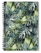 Tropical Leaves I Spiral Notebook