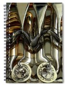 Tubes And Valves Spiral Notebook