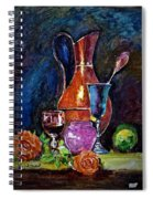 Tulip In Still Life Spiral Notebook