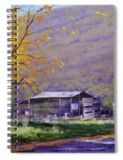 Tumut Valley Farm Shed Spiral Notebook
