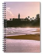 Tuna Punta Lighthouse Color Spiral Notebook