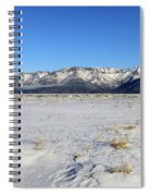Turnagain Arm And Chugach Range From Hope Alaska Spiral Notebook