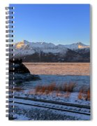 Turnagain Arm And Kenai Mountains Alaska Spiral Notebook