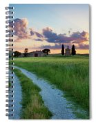 Tuscan Sunset Spiral Notebook