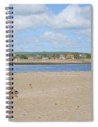 Tweed Estuary To Berwick-upon-tweed Medieval City Walls, Bridges Spiral Notebook