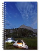Twilight Camping Spiral Notebook