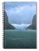 Twin Limestones Cruise Ships Ha Long Bay  Spiral Notebook
