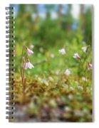 Twinflower Forest Spiral Notebook