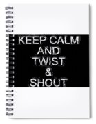 Twist And Shout V3 Spiral Notebook