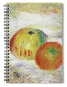 Two Apples, 1875 Spiral Notebook
