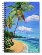Two Palms In Paradise Spiral Notebook