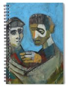 Two People Spiral Notebook