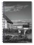 Two Sheds In Blue Rocks #01 Spiral Notebook