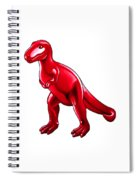 Tyrannosaurus Cartoon Spiral Notebook