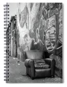 U Street Chair Washington Dc Spiral Notebook